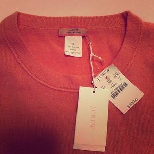 J crew cashmere sweater, size S
